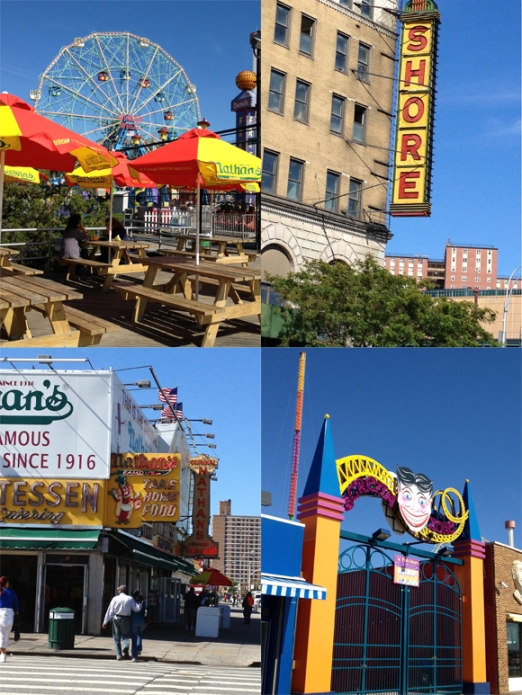 Colorful images from Coney Island