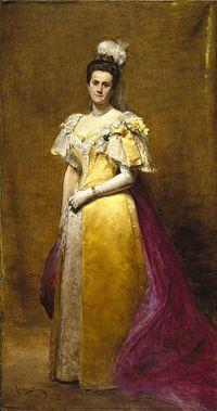 Emily Roebling's portrait, Brooklyn Museum