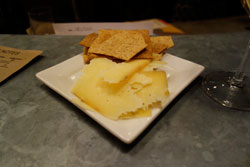 Cheese pairing at Brooklyn Oenology