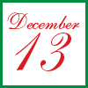 dec13 date stamp by Joy Makon Design