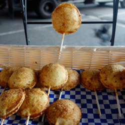 Pie pops are fun to eat!