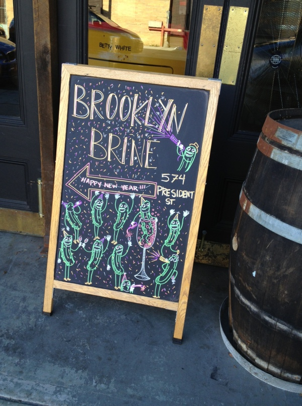 Brooklyn Brine Dancing Cukes