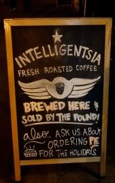 Chalkboard Easel, Intelligentsia