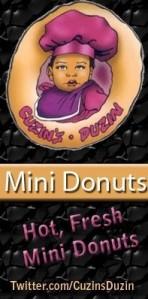 Cuzins Duzins Mini Donuts