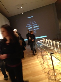 An interactive space, part of The Art of Scent 1889-2012.