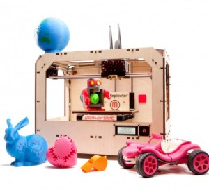Retailing for $2200 and up, The Replicator could make lots of models or household objects for you.
