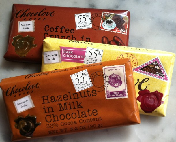 Chocolove Belgian Chocolate Bars (Oops, Not Made in Brooklyn)