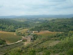 Loup Blanc Winery, Bize-Minervois.
