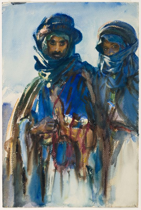 The Bedouins shows the intensity of Sargent's more-accomplished techniques from 1905-1906. (Photo: Courtesy of the Brooklyn Museum)