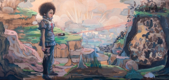 Inaugural exhibition, Next Generation, by Park Slope artist Lori Nelson. At Ground Floor Gallery, Park Slope. 6pm-10pm.