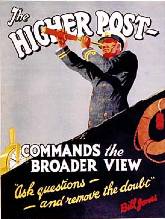 Bill Jones Higher Post, Broader View