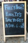 Chalkboard from Fleishers