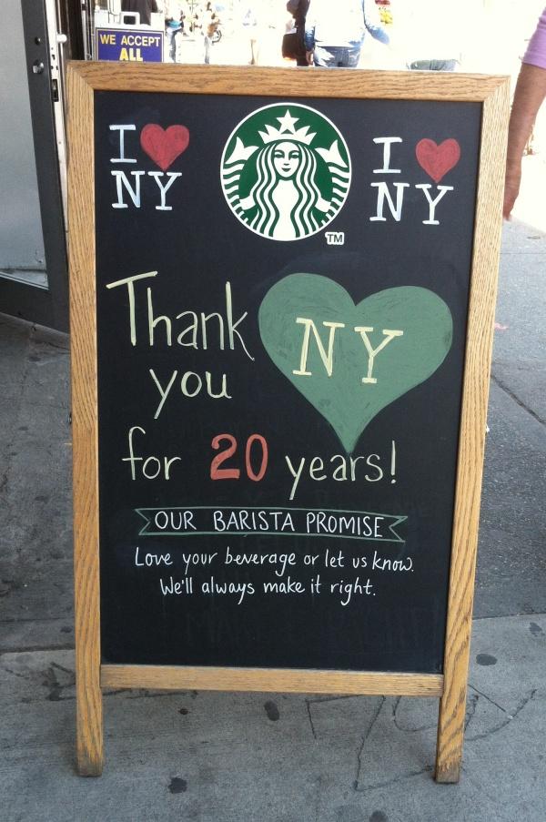 StarbucksThanksChalk