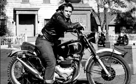 """The Wild Ones"" with Marlon Brando imprinted the American imagination  with the sexy biker image."